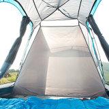 6つの人の屋外グループのキャンプテント