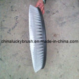 Cepillo redondo de la limpieza para la máquina del barrendero (YY-015)