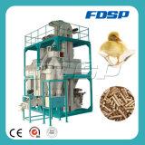 Projetos Turnkey pequenos das aves domésticas do moinho de alimentação das aves domésticas com preço barato