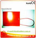 chaufferette personnalisée par millimètre en caoutchouc de silicones de 220V 5kw 260*490*1.5