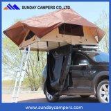 最高と評価された季節4WDのテント車の屋根の上のキャンバスのテント2017 4つ(2-4人)