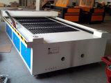 Máquina doble del cortador de las pistas del laser del CNC del área grande para la madera