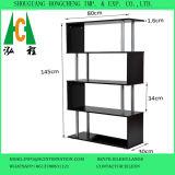 Black&Whiteの木製の表示棚