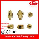 Maquinado CNC de accesorios de cobre