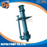고무에 의하여 일렬로 세워지는 산성 집수 슬러리 펌프