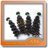 Человеческие волосы бразильянина Weaving 4A волос