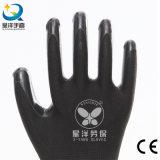 la paume en nylon de nitriles de l'interpréteur de commandes interactif 13G a enduit les gants de travail de sûreté (N6002)