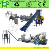 Película plástica del consumo de energía inferior LLDPE que recicla la máquina