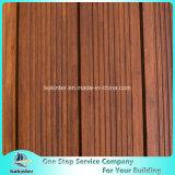 Sitio de bambú pesado tejido hilo al aire libre de bambú 1 del chalet del suelo del Decking
