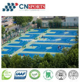 Escola de Volleyball / Bsketball / Badmitton Court Flooring, Sports Court Gym Floor