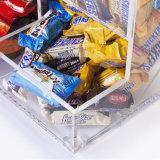 Ящик конфеты фабрики прямой связи с розничной торговлей поставщика золота Anhui изготовленный на заказ акриловый