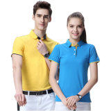 Polo à coton en coton promotionnel personnalisé