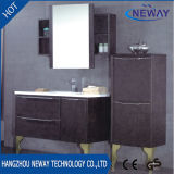 Vanité de salle de bain en PVC de haute qualité avec armoire latérale