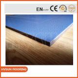 Facile installare le mattonelle di collegamento della pavimentazione di gomma senza giunte per un randello di forma fisica di qualità superiore