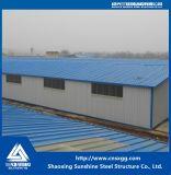 중국에서 저가 빛 강철 구조물 창고
