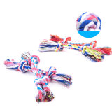 Pet Dog Puppy Cotton Trenzé Knot Bone Rope Chew Tug Training Jouer Jouet