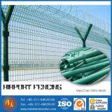 Y forme l'aéroport de sécurité de clôture de barbelés de rasoir / clôture de fil de soudure