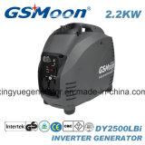 2.2kVA de compacte Super Stille Generator van de Benzine van de Omschakelaar met Goedkeuring
