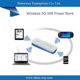 Портативный мобильный банк питания с поддержкой беспроводной связи 3G маршрутизатор WiFi Funcion