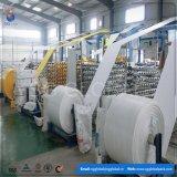 Tissu blanc fournisseur de tube tissé par pp de la Chine