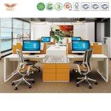 Изготовление на заказ офисной мебели доски частицы рабочей станции меламина конструкции Hongye новое