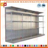 倉庫の食料雑貨の記憶のステンレス鋼の細長かった角度のスーパーマーケットの棚(ZHS18)