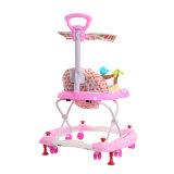 Les meilleurs cadeaux du bébé marcheur de bébé de roulement de 360 degrés avec le poussoir