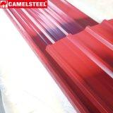 색깔 입히는 루핑 장의 강철판 가격 유형