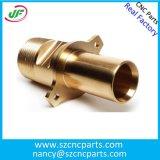 OEM Kundenspezifische CNC-Teile, Metallteile, Hardware-Teile von Messing
