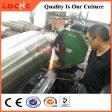 Máquina de torno de metal horizontal de alta precisão para torneamento e trituração