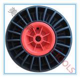 Ventilator-Versenden festes Gummirad 10X3 mit Felge für Boots-Schlussteil