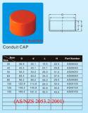 주황색 색깔 PVC-U 이음쇠 --엔드 캡 호주 Standrd (AS/NZS2053)