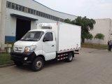 Sinotruk Cdw 4X2 dever Mini Refrigerador Van Caminhão da luz de 2 toneladas