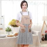 Form-Plaid-Baumwollschutzblech für Küche-Set