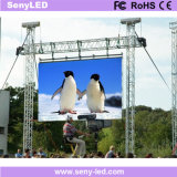 Wasserdichter Bildschirmanzeige-Panel-Bildschirm LED (im FreienP3.91/P4.81/P5.95/P6.25) Leistung des im Freienstadiums