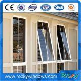 Vento e finestra di vetro del balcone di alluminio della prova di calore
