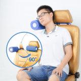 Шея подушки остальных сна места автомобиля перемещения 90 градусов складная