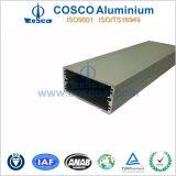 Perfil de alumínio anodizado desobstruído do competidor de China para o cerco expulso