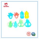 Juguetes coloridos de la dentición para los bebés