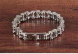 Mann-kubanische Armband-rostfreies Schmucksache-Armband