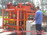 Blocco in calcestruzzo che fa le macchine Nairobi Kenia (QTJ4-26C)