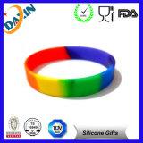 Многоцветный пустым силиконовый браслет