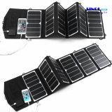 39W 18V/5V удваивают заряжатель панели солнечных батарей выхода водоустойчивый напольный складывая для обязанности батареи 12V