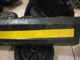Kurk van het Wiel van de Veiligheid van het Parkeren van de Auto van de Verkoop van de fabriek de Hete Rubber