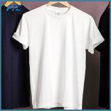 T-shirt d'hommes estampé par coton fait sur commande de promotion