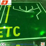 Знак уличного движения дороги Allumium отражательный