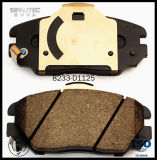 Garniture automatique D1125 de frein à disque de pièces de rechange de véhicule pour des pièces de véhicule de Hyundai/KIA