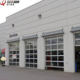 Venda a quente automática moderno Painel Garagem portas industriais de vidro