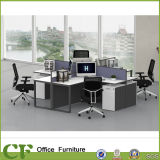 Modernes Art-Büro L Form-Aluminiumpartition-Büro-Zelle-Arbeitsplatz