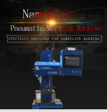 Envio gratuito marcação na placa de metal de Desktop Martelamento Máquina para Carta